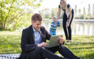 Vollzeitnahe Teilzeit als Chance für Familien