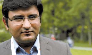 Kavin Trivedi aus Indien, Master of Science Mechatronik
