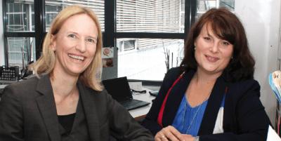 Anja Breuninger und Katja Mielke