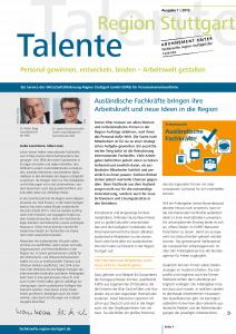 Cover Ausgabe Talente