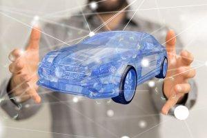 Bild Auto 3D-Rendering