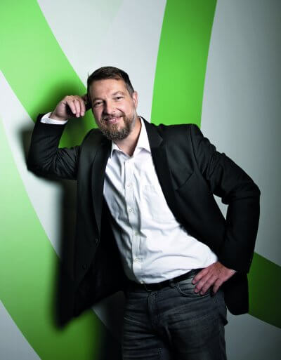 Porträt Sven Semet, HR Thought Leader Watson Talent & Member of IBM Corporate Service Corps