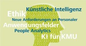 Übersicht der Aspekte der 2. Talente-Ausgabe 2019 der Wirtschaftsförderung Region Stuttgart GmbH, Schwerpunkt Künstliche Intelligenz in der Personalarbeit