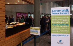 Career Lunch in der Region-Stuttgart-Lounge